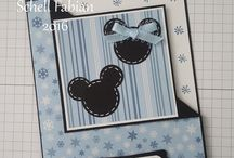 Mickey and Minnie Series 2017 / A series of Corner Fold cards for 12 holidays during the year :)