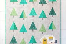 Outdoor themed quilt