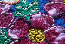 bordados em tecidos
