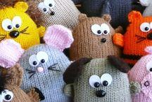 Hračky - pletené