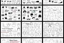Drawing cartoons / by Amanda Hickcox