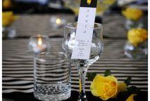 желто-черная свадьба