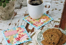 Mug rugs  for my coffee .. Nice / by Anna Snellings