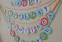 Birthday party ideas / by Julie Reagan