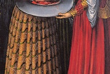 16th century striped bodice dress / 16th century dresses with pannels in the bodice