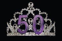 Nuoren naisen 50-vuotis-syntymäpäivä
