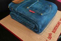 Jeans Torte