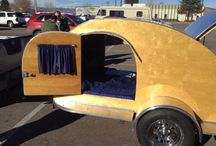 Teardrop Trailers and tiny trailers