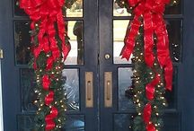 front door christmas ideas outdoor decorations