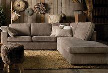 Gave meubels / Mooie hoekbank