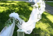 Stoffe Dekoration Hochzeit