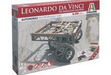 Invenzioni di Leonardo da Vinci in kit