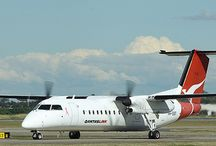 DHC-8 Q-Series Turboprops / A set of photos of the Dash-8 Turboprops I flew in recently
