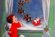 Vintage Christmas Cards / by Kathie Friend