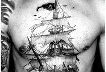 tattoo veliero