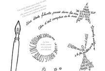 comptines et calligrammes
