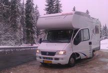Camper vakantietrips / trips met Dethleffs A5810 camper