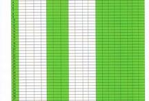 Data Sheets/Progress Monitoring