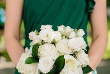 GOLD & GREEN WEDDINGS