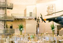 Gala Cloths Linen Rental Designer Styles Her Daughter's Wedding Reception / Diane Sundholm, Gala Cloths' Designer & Linen Rental Consultant for Metropolitan Washington DC, Styled the Reception Linens for her Daughter's Wedding at the National Museum of the Marine Corps in Virginia. Photography by: Megan Kelsey. Florals by Bergerons Flowers, Springfield, Virginia.