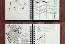 sketchbooks / Journal/ Sketchbook Art
