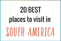 South America Travel Tips / South America travel tips and inspiration to help you plan a trip to South America