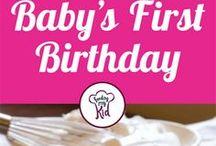 Kyla's first birthday