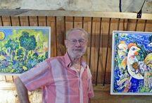 expositions et artistes invités