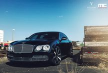 "2014 Bentley Flying Spur ll VELLANO VM13 / Stunning 2014 Bentley Flying Spur ll on a set of beautiful Vellano  VM13 22"" all around Monoblock One Piece Forged Cosntruction"