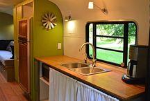 Housebus/caravan interiors