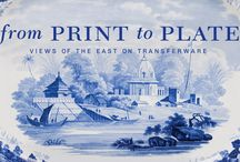 From Print to Plate Views of the East on Transferware