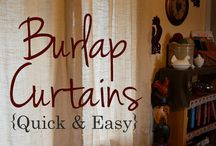 Burlap / by Janice-Bob Ottley