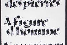 je suis Charlie / tableau d'œuvre de calligraphes autour de l'évènement du Masacre de Charlie Hebdo, à Paris, ce mercredi 7 janvier 2015