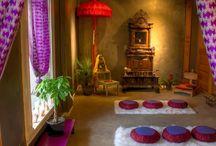 meditációs sarok