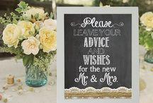 wedding sign boards