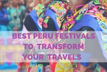 3 Best Peru Festivals / There are plenty of eye-opening events in Peru to make your visit unforgettable. If you want to immerse yourself in Peru's culture, try visiting one of the country's many festivals. Attending one of these Peru festivals will transform your Peru travel from sightseeing to discovery.