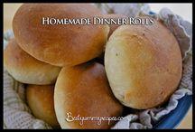 Homemade wheat dinner rolls / Dinner rolls wheat