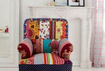 Armchair and Cushions