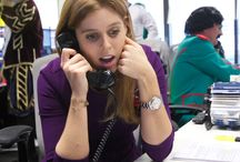 Bloomberg Tradebook Charity Day / On 30th October 2014, HRH Princess Beatrice and Alex MacQueen showed their support for Children in Crisis by taking to the phones and trading at the Bloomberg Tradebook Charity Day.