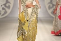 Desi Couture / Bright colors and beautiful draping  / by Farina T