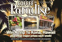 National Coffee Month - Sweepstakes / Enter the 2016 #CoffeeInParadise #Sweepstakes for a chance at weekly prizes plus the grand prize of a trip to Kona, Hawaii. http://woobox.com/r87fu7