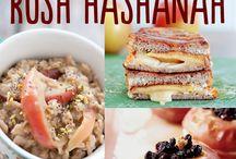 Rosh Hashanah Food & Decorations / New Year Fun!