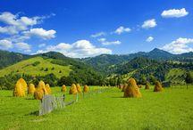 Romania / La Roumanie est un pays mystérieux et méconnu, où les merveilles encore préservées du tourisme de masse ne demandent qu'à être découvertes. La magie de ce pays réside aussi dans ses nombreuses légendes, dont celle du prince Vlad Tepes, plus connu sous le nom de Dracula. Les villages reculés et les châteaux médiévaux, la campagne bucolique et les forêts profondes peuplées de loups et d'ours, les monastères fascinants et une population francophile à la gentillesse hors du commun.