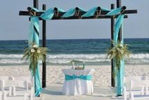 kumsal düğünü / kumsalda düğün