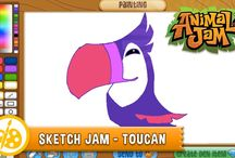Terrific Toucans! / Toucans have landed in Jamaa! Learn all about these amazing feathered friends and don't forget to PLAY WILD!
