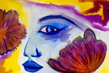 The way I see it / My water color painting