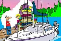Boating Cartoons