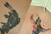 Scarlet / Cover up tattoo