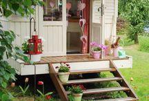 Trädgård / friggebod