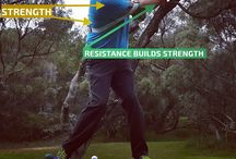 Power Golf Swing / Golf Precise-57 Power Golf Swing Trainer. Starting your backswing resistance builds strength in critical golf power muscles; improving mechanics, and triggering club head speed on your downswing.